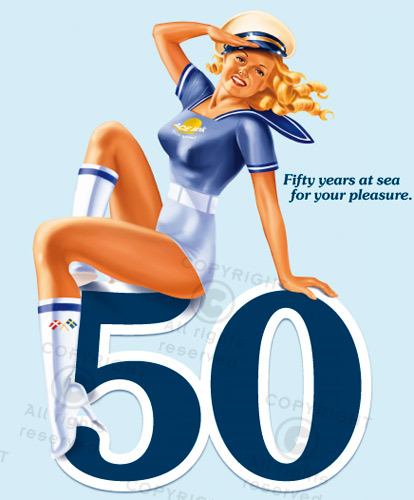 Pin-up girl 50'er fifty's style
